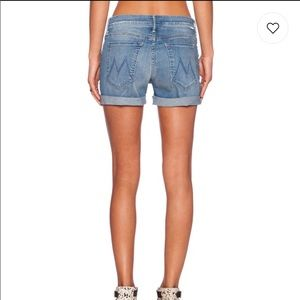 MOTHER   Dropout Cuff Shorts
